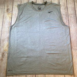 Nike Dri-Fit Athletic Sports Tank Top - Mens XL